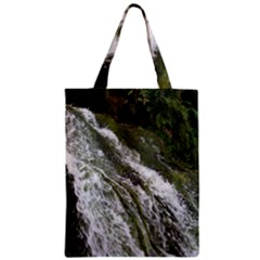 WATER OVERFLOW Zipper Classic Tote Bags