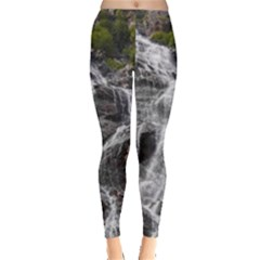 MOUNTAIN WATERFALL Women s Leggings