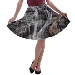 MOUNTAIN WATERFALL A-line Skater Skirt