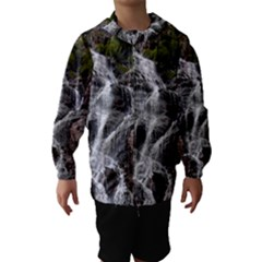 MOUNTAIN WATERFALL Hooded Wind Breaker (Kids)