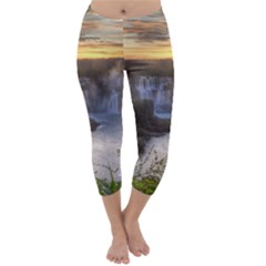 IGUAZU FALLS Capri Winter Leggings