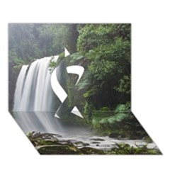 Hopetoun Falls Ribbon 3d Greeting Card (7x5)