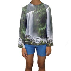 HOPETOUN FALLS Kid s Long Sleeve Swimwear