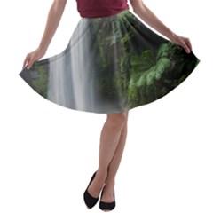 HOPETOUN FALLS A-line Skater Skirt