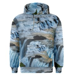 Gullfoss Waterfalls 2 Men s Pullover Hoodies