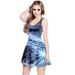 GULLFOSS WATERFALLS 1 Reversible Sleeveless Dresses