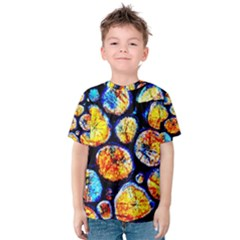 Woodpile Abstract Kid s Cotton Tee