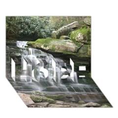 Elakala Falls Hope 3d Greeting Card (7x5)
