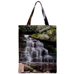 ELAKALA FALLS Zipper Classic Tote Bags
