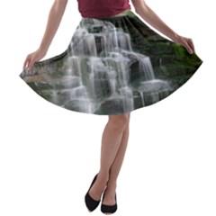 Elakala Falls A Line Skater Skirt
