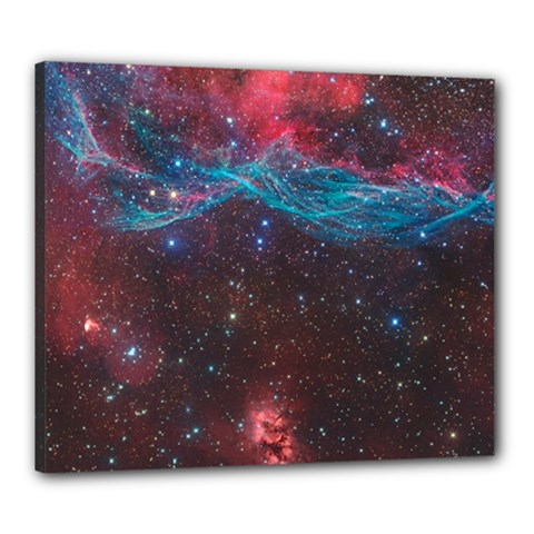 Vela Supernova Canvas 24  X 20
