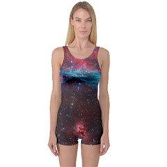 Vela Supernova One Piece Boyleg Swimsuit