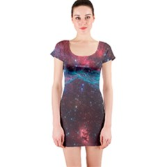 Vela Supernova Short Sleeve Bodycon Dresses