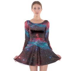 Vela Supernova Long Sleeve Skater Dress