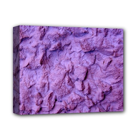 Purple Wall Background Deluxe Canvas 14  x 11
