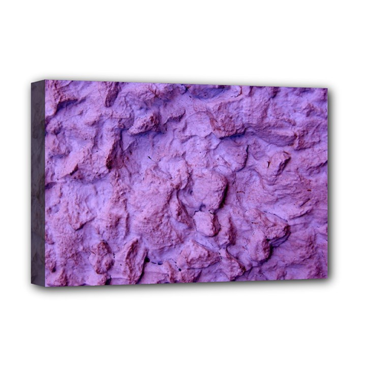 Purple Wall Background Deluxe Canvas 18  x 12