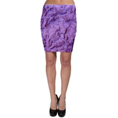 Purple Wall Background Bodycon Skirts