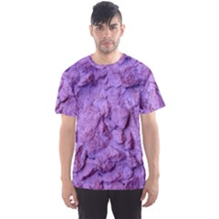 Purple Wall Background Men s Sport Mesh Tees