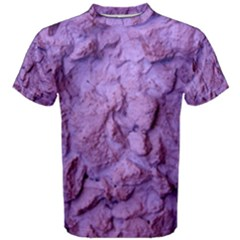 Purple Wall Background Men s Cotton Tees