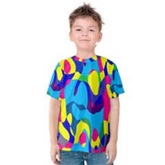 Colorful chaos Kid s Cotton Tee