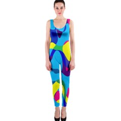 Colorful Chaos Onepiece Catsuit