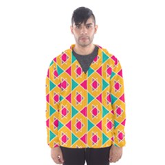 Colorful stars pattern Mesh Lined Wind Breaker (Men)