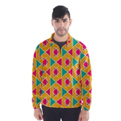 Colorful Stars Pattern Wind Breaker (men)