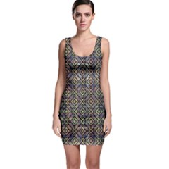 Luxury Patterned Modern Baroque Bodycon Dresses