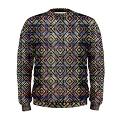 Luxury Patterned Modern Baroque Men s Sweatshirts