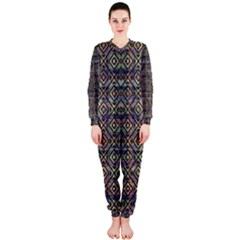 Luxury Patterned Modern Baroque OnePiece Jumpsuit (Ladies)