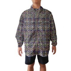 Luxury Patterned Modern Baroque Wind Breaker (Kids)