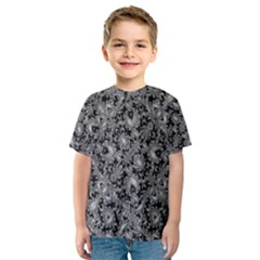 Luxury Patterned Modern Baroque Kid s Sport Mesh Tees