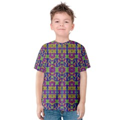 Ethnic Modern Geometric Patterned Kid s Cotton Tee