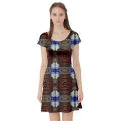 Lit10613004015  Short Sleeve Skater Dresses