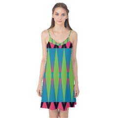 Connected Rhombus Camis Nightgown