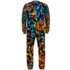 Colorful Seashell Beach Sand, OnePiece Jumpsuit (Men)