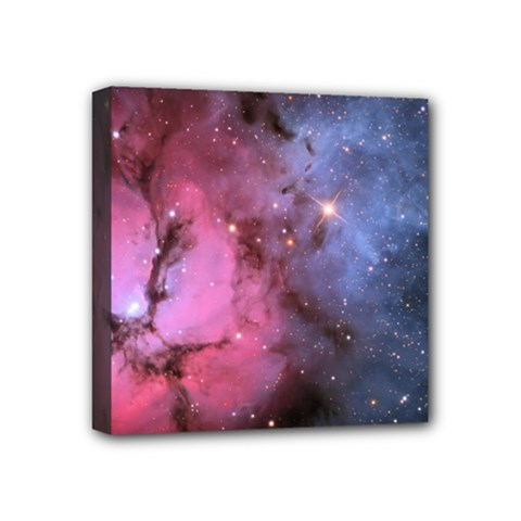 Trifid Nebula Mini Canvas 4  X 4