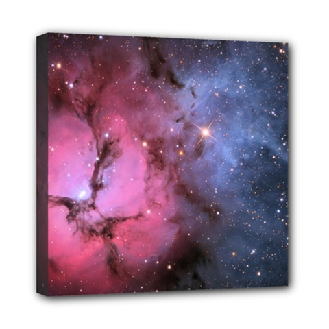 Trifid Nebula Mini Canvas 8  X 8
