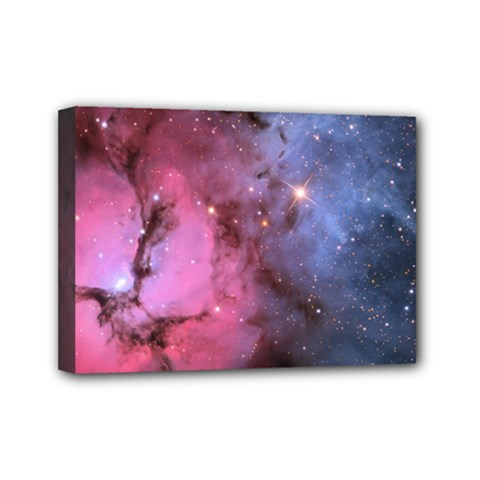 Trifid Nebula Mini Canvas 7  X 5