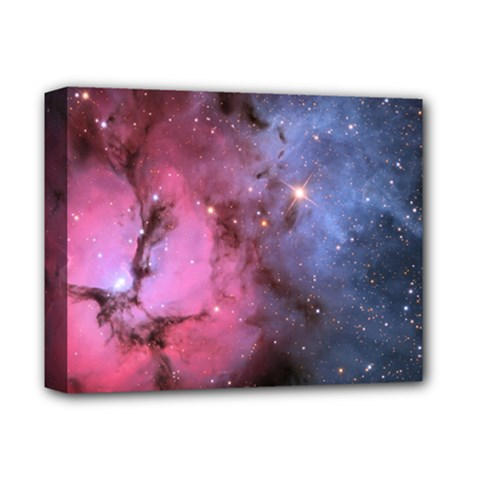 Trifid Nebula Deluxe Canvas 14  X 11
