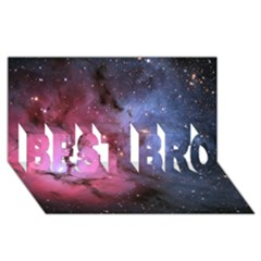 Trifid Nebula Best Bro 3d Greeting Card (8x4)
