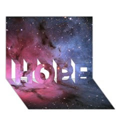 Trifid Nebula Hope 3d Greeting Card (7x5)