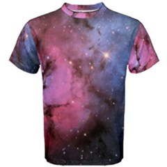 Trifid Nebula Men s Cotton Tees