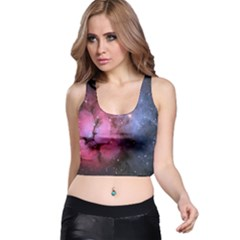 Trifid Nebula Racer Back Crop Tops