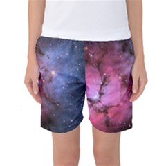 Trifid Nebula Women s Basketball Shorts