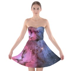 Trifid Nebula Strapless Bra Top Dress