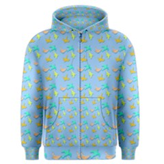 Birds Pattern2 Men s Zipper Hoodies