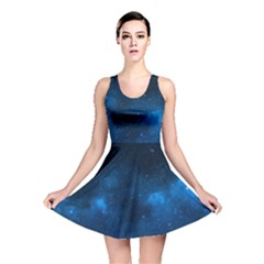 Starry Space Reversible Skater Dresses