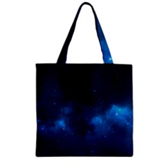 STARRY SPACE Zipper Grocery Tote Bags