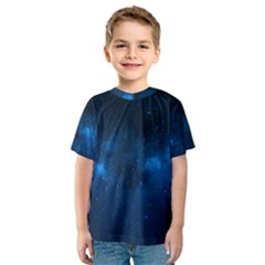 Starry Space Kid s Sport Mesh Tees